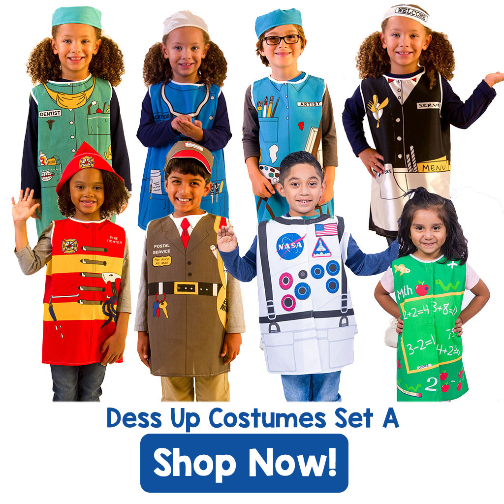 Shop - Dress Up Costumes Set A