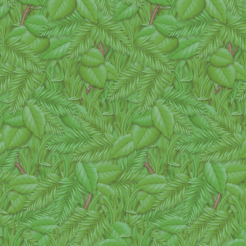"Fadeless Designs Paper Roll, 48"" x 50', Tropical Foliage"