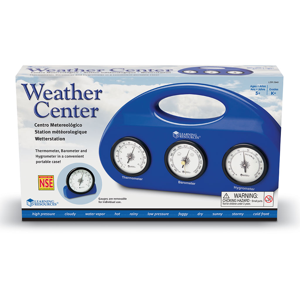 Weather Centre, Set of 3
