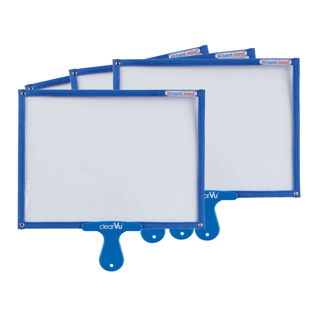 ClearVu Answer Boards, Set of 4