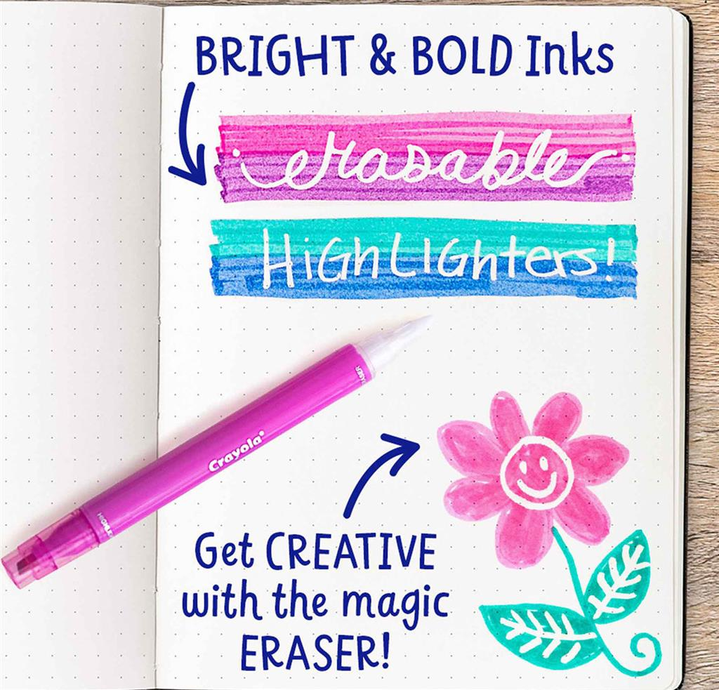 Take Note Erasable Highlighters, Set of 80