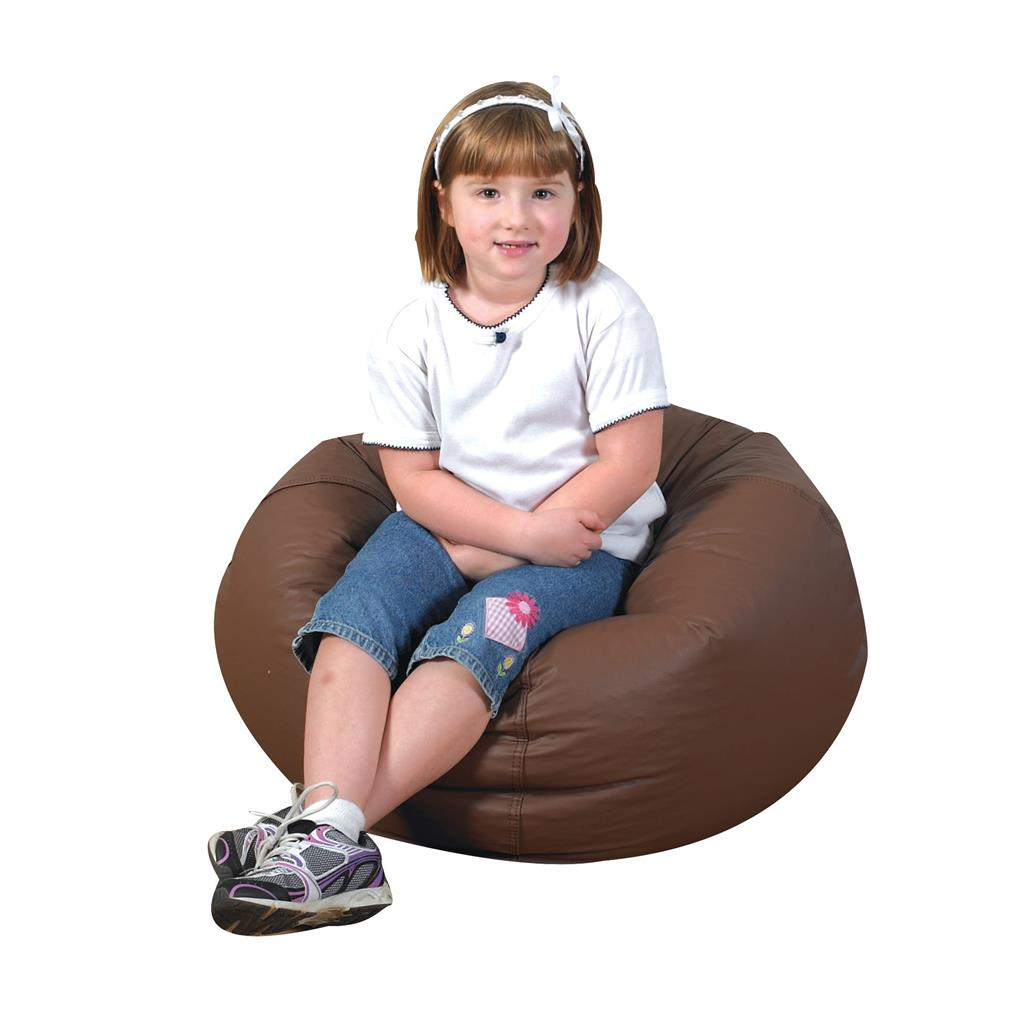 "Bean Bag, 26"", Walnut"