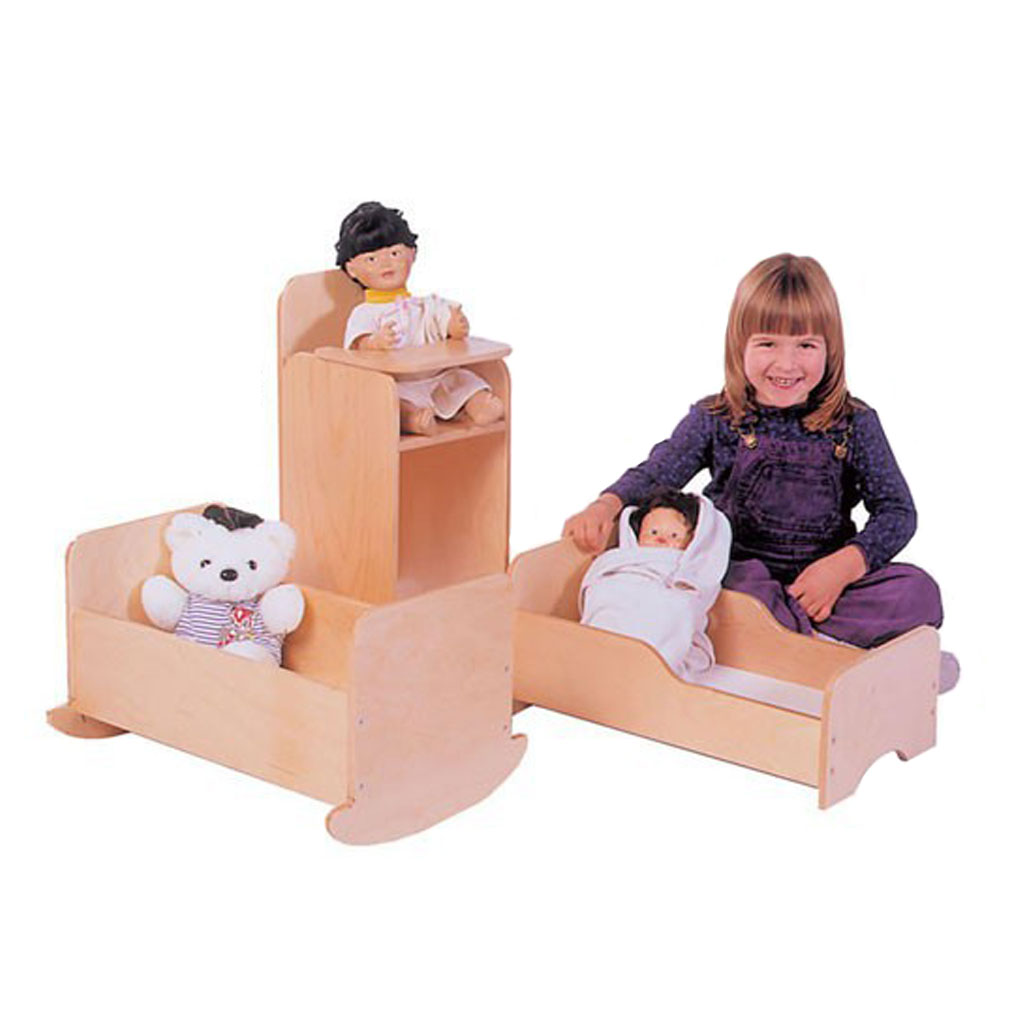 Traditional Doll Furniture, Set of 3