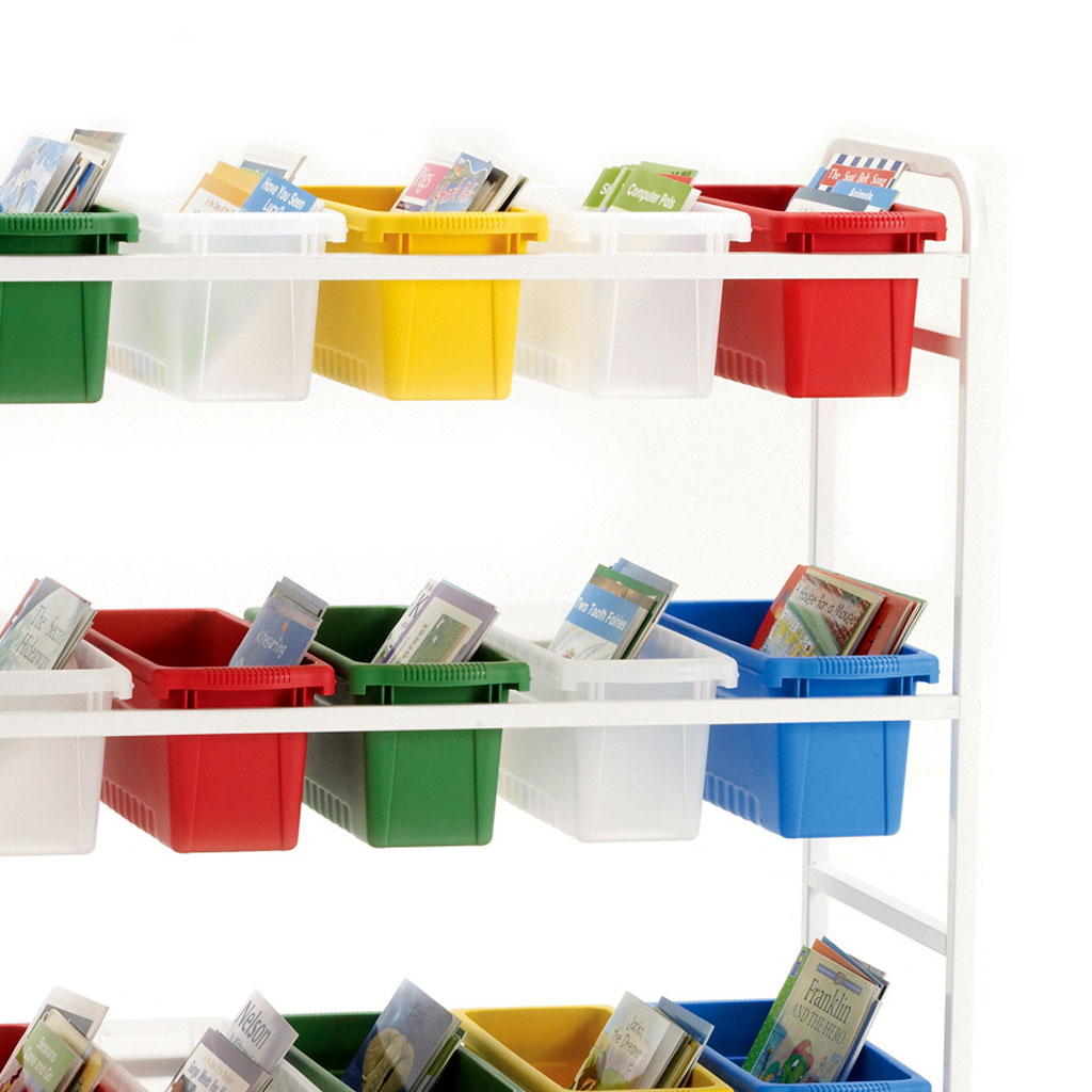 18-Tub Leveled Reading Book Browser