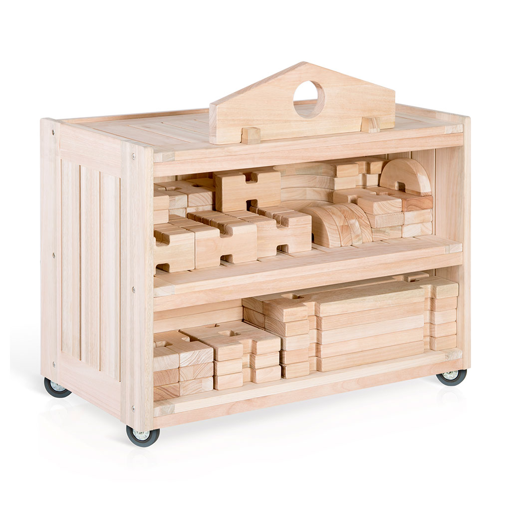 Notch Blocks Storage Cart