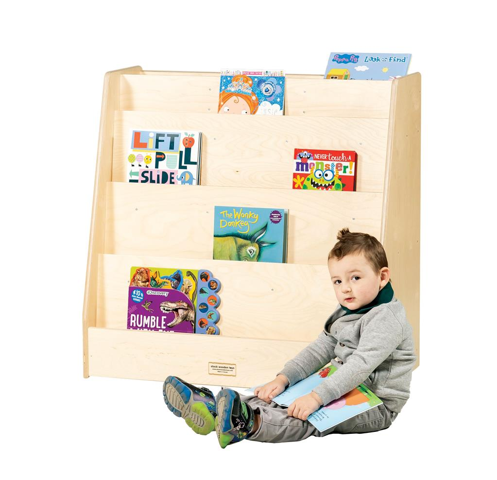 Mobile Book Display and Store, Birch
