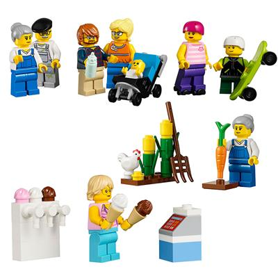 LEGO Community Figure Set, 256 Pieces