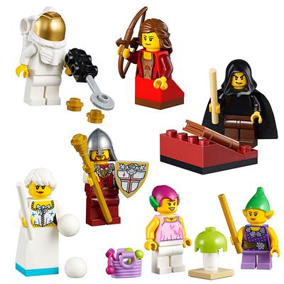 LEGO Fairytale and Historic Minifigure Set, 213 Pieces