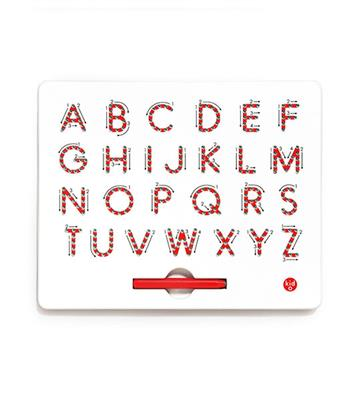 A To Z Magnatab, Uppercase
