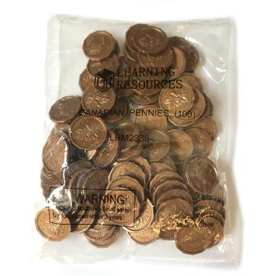 Pennies, 100 Pieces