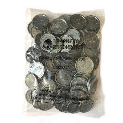 Nickels, 100 Pieces