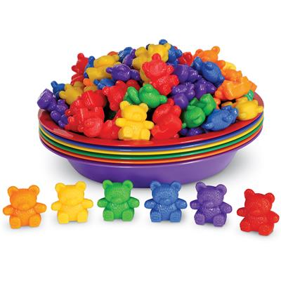 Baby Bear Sorting Set, 108 Pieces