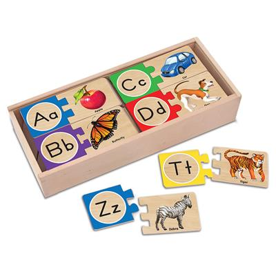 Self-Correcting Letter Puzzle, 52 Pieces