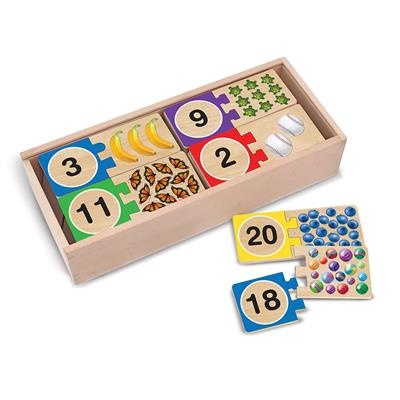 Self-Correcting Number Puzzle, 40 Pieces