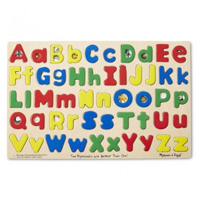 Upper and Lowercase Letter Puzzle