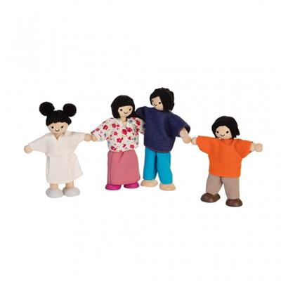 Posable Family, Asian