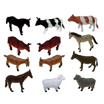 Farm Animals Collection, Set of 12