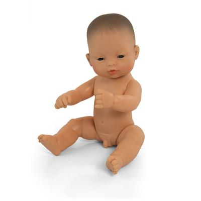 "Male Doll, 12-1/2"", Asian"