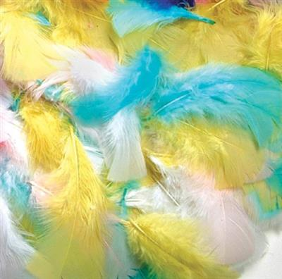Feathers, Spring Colours