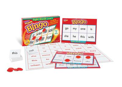 Basic Sight Words Bingo