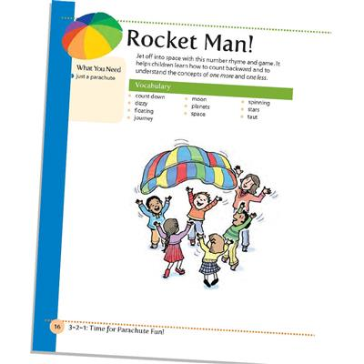 3-2-1: Time For Parachute Fun Book
