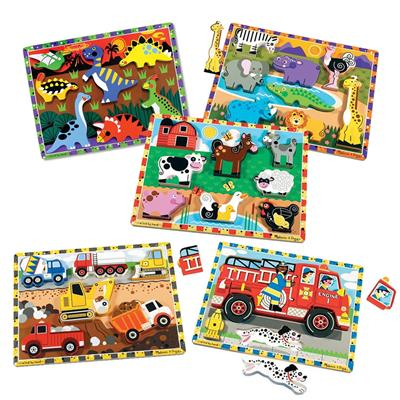 Chunky Puzzles, Set of 5