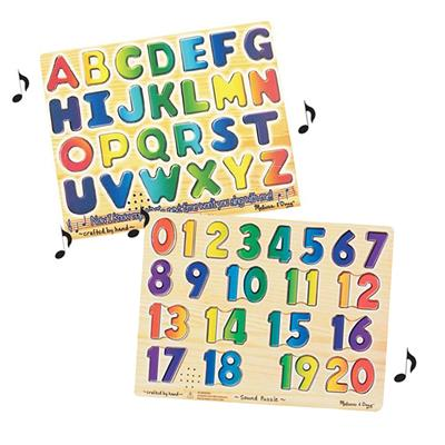 Numbers and Letters Sound Puzzle Pack