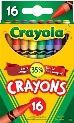 Crayola Crayons, 16 count, Set of 12