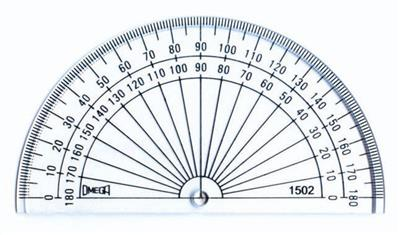 "Protractor, 4"", Set of 10"