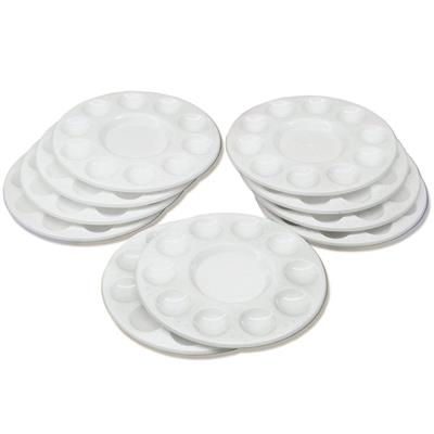 Round Paint Trays, Set of 10