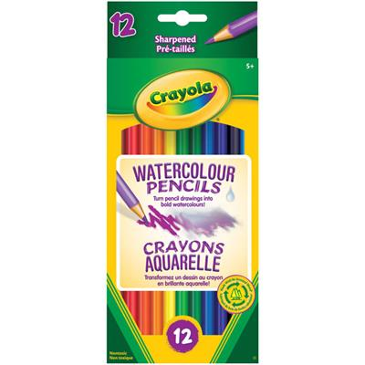 Crayola Watercolour Pencils, Set of 12