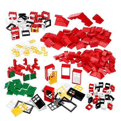 LEGO Doors, Windows and Roof Tiles Set, 278 Pieces