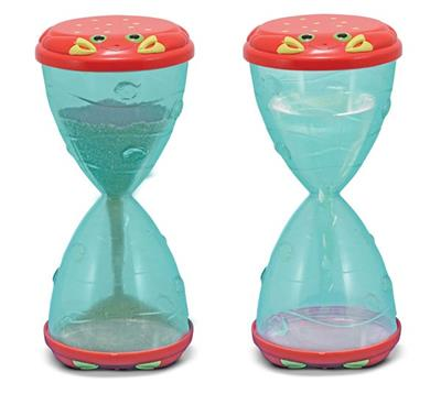 Clicker Crab Hourglass Sifters