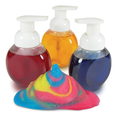 Foam Paint Bottles, Set of 3