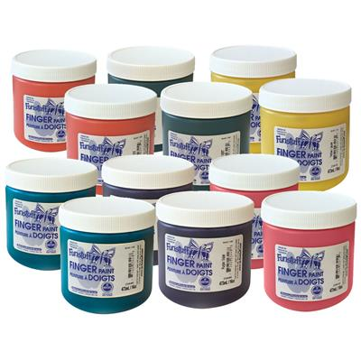 Finger Paint, 946 ml, Set of 6