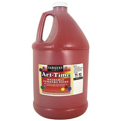 Washable Paint, 3.8 L, Red