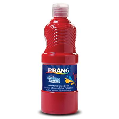Prang Washable Liquid Tempera Paint, 946 ml, Red