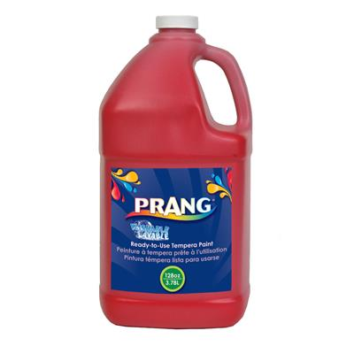 Prang Washable Liquid Tempera Paint, 3.8 L, Red