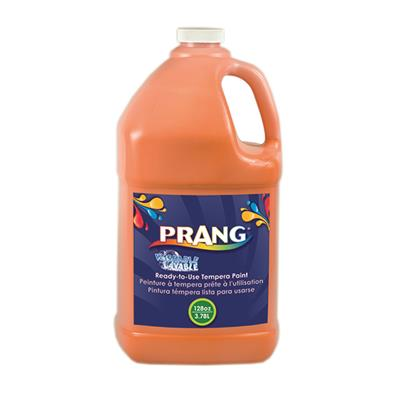 Prang Washable Liquid Tempera Paint, 3.8 L, Orange
