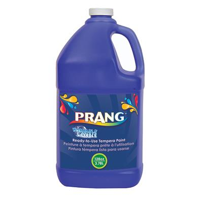 Prang Washable Liquid Tempera Paint, 3.8 L, Blue