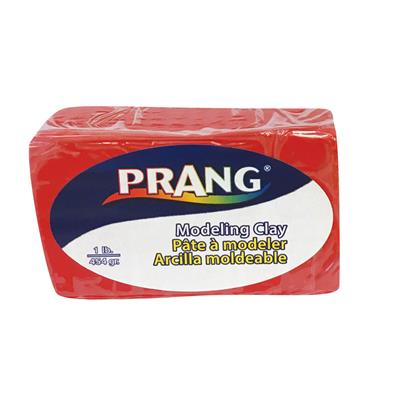 Prang Modelling Clay, Red, 1 lb