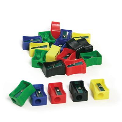 Pencil Sharpeners, Assorted, Set of 20