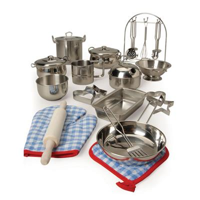 All Play Stainless Steel Cookware Set