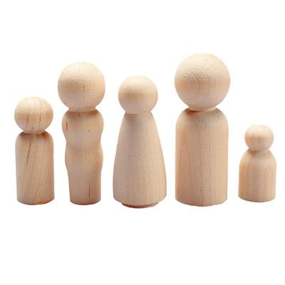 People Wooden Shapes