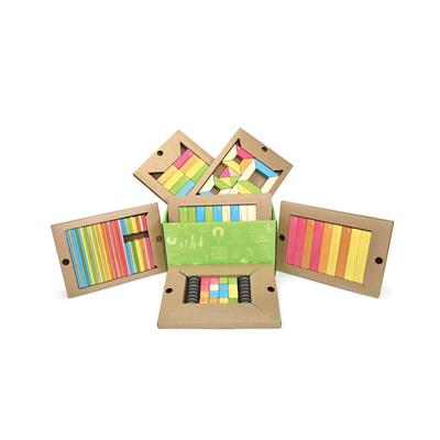 Tegu Classroom Kit, Tints, 130 Pieces