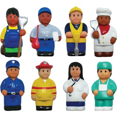 Community Helper Figures, Set of 8