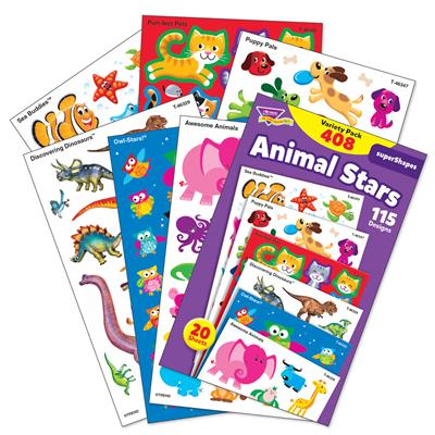 Animal Stars Stickers