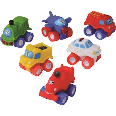 Toddler Tough Vehicles, Set of 6