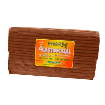 Plastimodal Modelling Clay, Brown, 1.1 lb