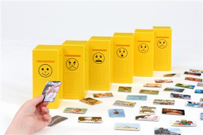 Emotions Posting Game, 66 Pieces